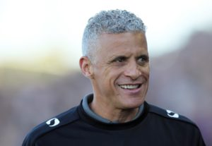 Northampton boss Keith Curle praised his team's application after they ended their campaign with an emphatic 5-2 win at Oldham.