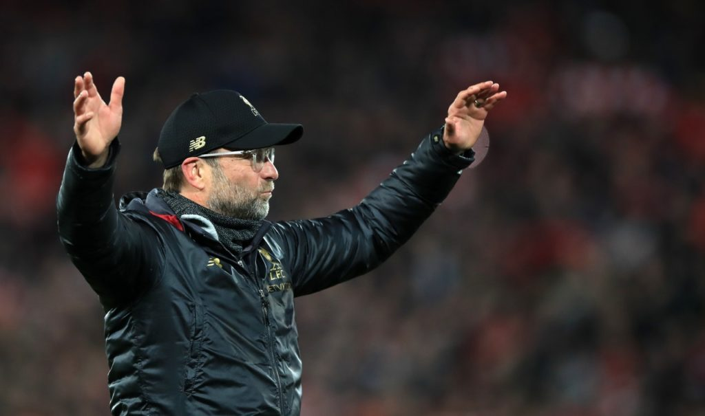 Jurgen Klopp believes that if Liverpool stay on their current trajectory then it is inevitable that silverware will eventually follow.