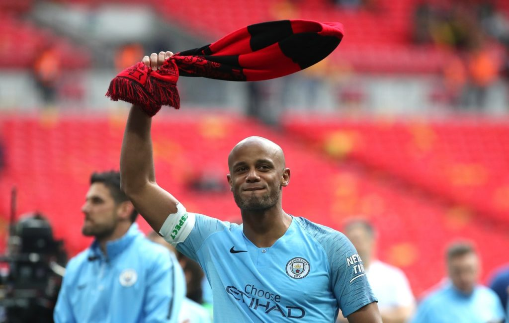 Manchester City captain Vincent Kompany will leave the club this summer.