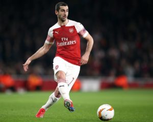 Henrikh Mkhitaryan says he's 'very disappointed' to have to miss the Europa League final after Arsenal ruled him out of travelling to Baku.
