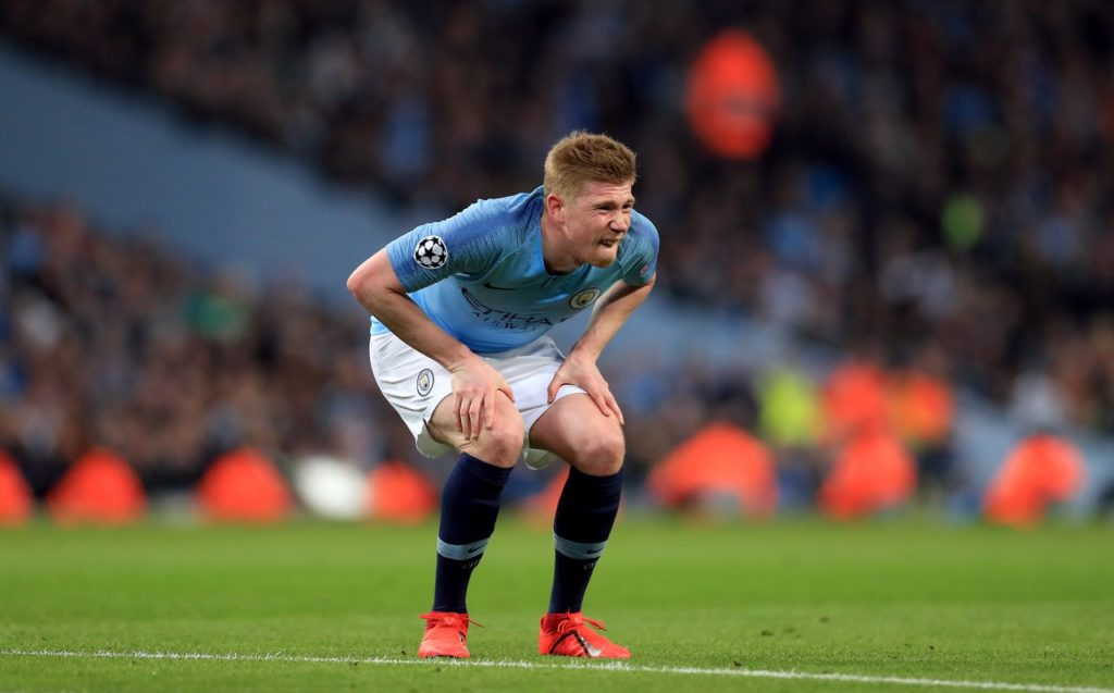 Man City could be boosted by the return of Kevin De Bruyne as they target the win that will ensure them of the title at Brighton.