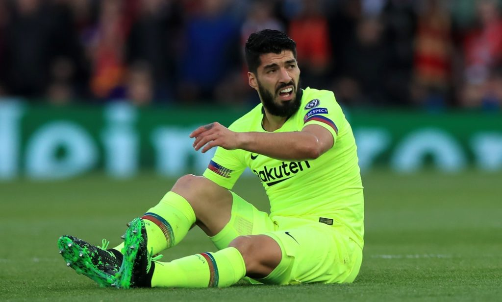 Striker Luis Suarez is set to miss the Copa del Rey final for Barcelona after undergoing knee surgery.