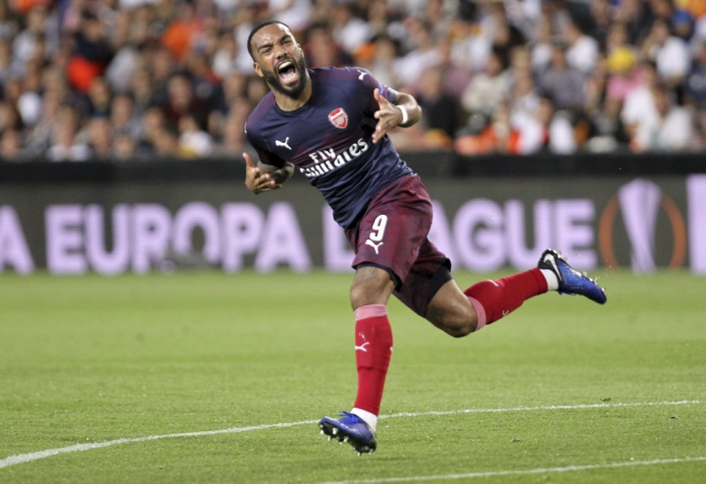 Reports in France claim Atletico Madrid are keen to sign Arsenal's Alexandre Lacazette as a replacement for Antoine Griezmann.