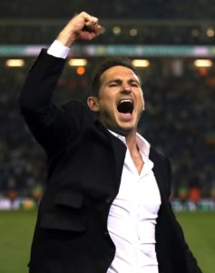 Frank Lampard will hold talks over his future with Derby owner Mel Morris after Monday's Sky Bet Championship play-off final.