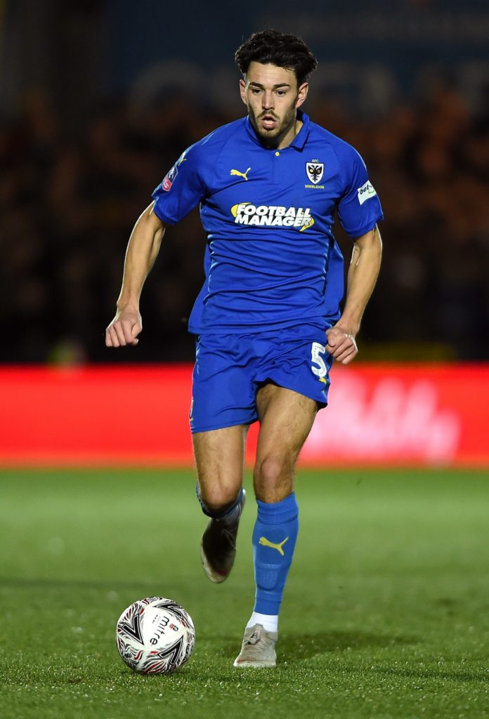 Will Nightingale has signed a new deal with AFC Wimbledon following their League One survival.