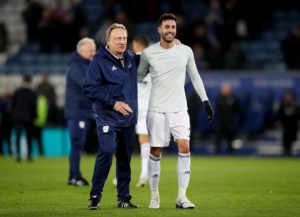 Neil Warnock says he is hoping Victor Camarasa will be fit enough for Cardiff's trip to Manchester United on Sunday.