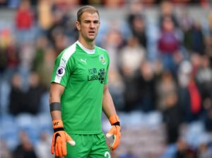 Sean Dyche has admitted one of his three England goalkeepers will likely leave this summer with Joe Hart linked with a move away.