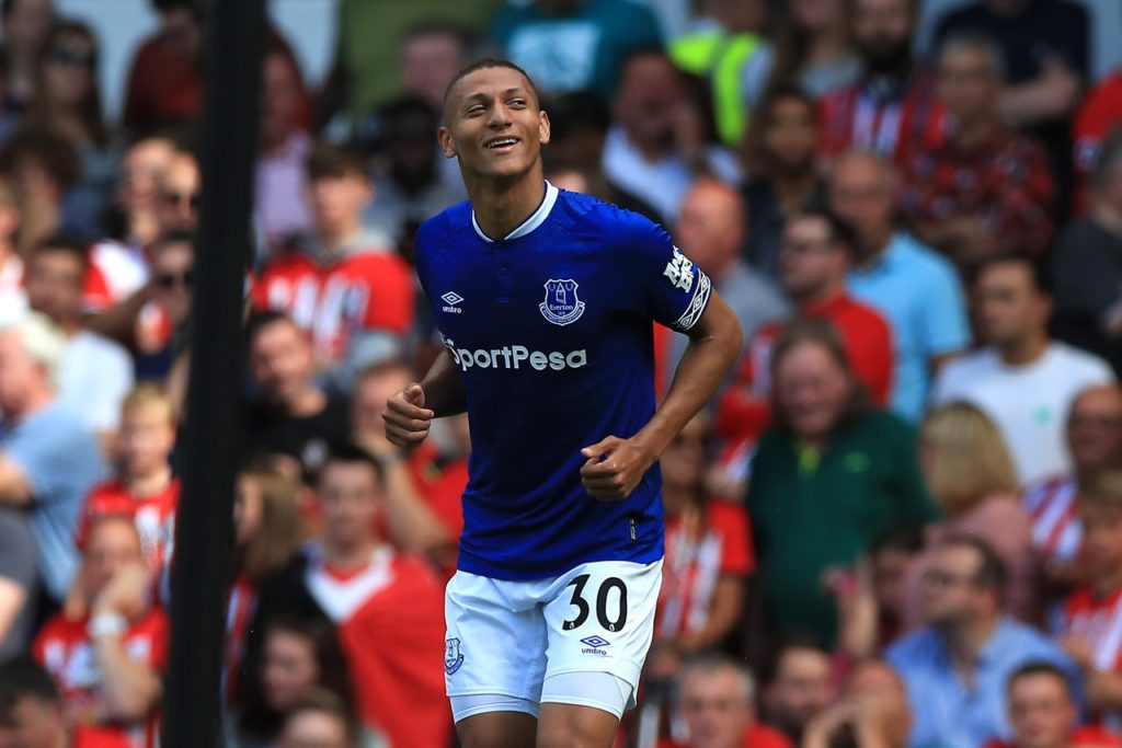 Paris Saint Germain are said to be keen to take Everton forward Richarlison this summer but they may have a battle to land him.