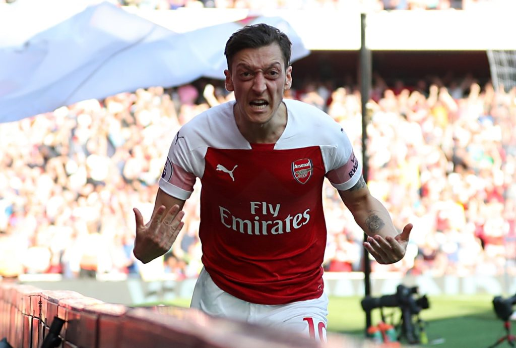 Arsenal playmaker Mesut Ozil has rejected claims that he could end his time at the Emirates this summer.