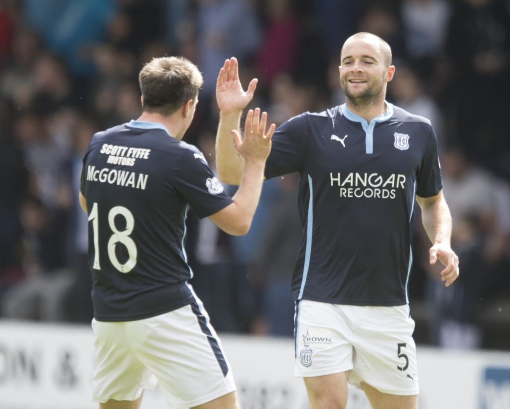 Paul McGowan has told Dundee chief John Nelms the answer to his managerial conundrum is sitting under his nose in the shape of James McPake.