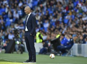 Zinedine Zidane praised Brahim Diaz but would not speculate over the future of Gareth Bale following Real Madrid's 3-1 defeat to Real Sociedad.