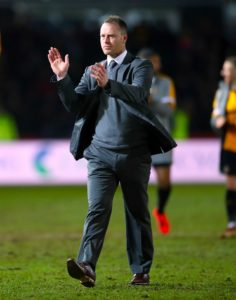Newport manager Michael Flynn is hopeful Joss Labadie will be available for their League Two play-off tie against Mansfield.