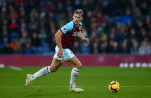 Burnley left-back Charlie Taylor has heaped praise on his teammates for delivering under pressure this season.