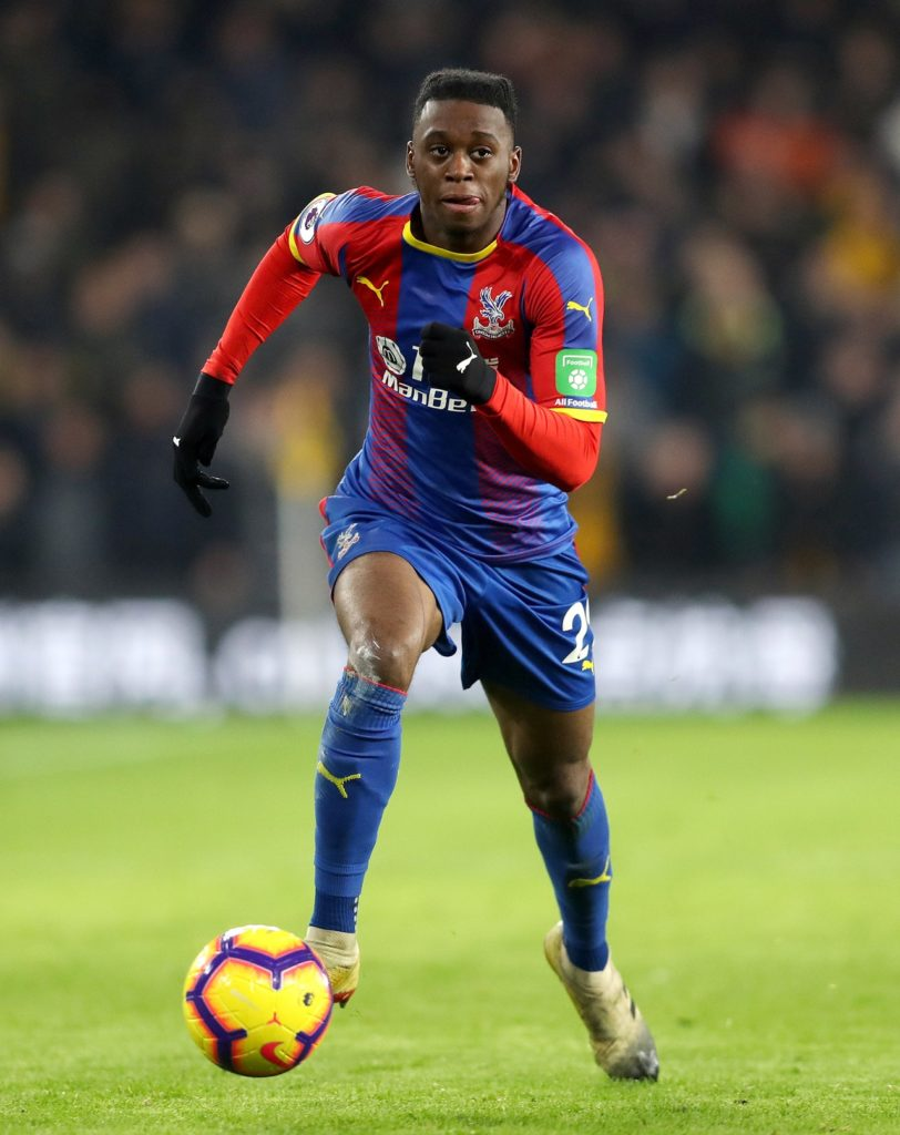 Aaron Wan-Bissaka has reassured Crystal Palace supporters that he will not be leaving the club this summer.