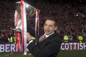Peter Pawlett has backed Dundee United to handle the pressure of the Ladbrokes Premiership play-off final and return the club to where they believe they belong.