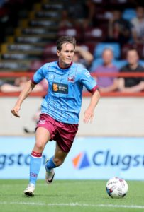 Experienced midfielder Josh Morris is one of three players released by Scunthorpe following the club's relegation to Sky Bet League Two.