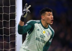 Cardiff have reportedly set a £10million asking price for goalkeeper Neil Etheridge amid interest from West Ham.
