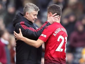 Ole Gunnar Solskjaer is the right man to take Manchester United forward, according to Ander Herrera, who has also called for patience.