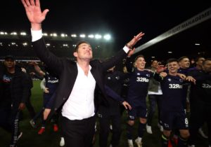 Frank Lampard has compared Derby's play-off final showdown to Chelsea's crucial Champions League qualification which changed the course of the club's future.
