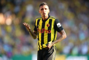 Watford boss Javi Gracia has slammed the decision to send Jose Holebas off in Sunday's 4-1 defeat at home to West Ham United.
