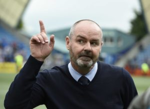 Steve Clarke has vowed to emulate Scotland's women and lead the national team back to the major international stage.