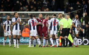 West Brom skipper Chris Brunt is ready to accept another helping hand from Jay Rodriguez to break Aston Villa hearts.