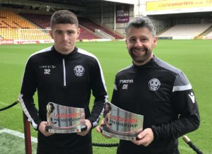 Motherwell manager Stephen Robinson defended Jake Hastie after the young winger was booed by his own club's fans during the defeat to St Johnstone.