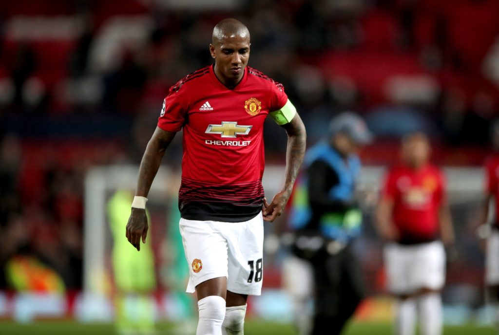 Manchester United defender Ashley Young says he is at a loss as to why they are struggling to perform.
