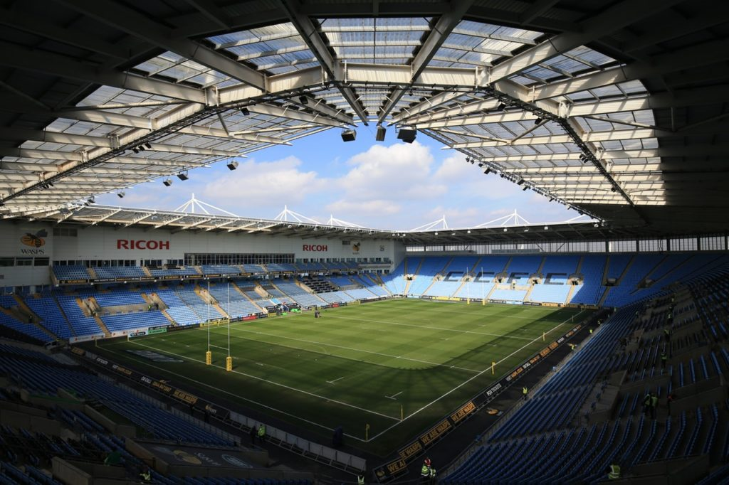 Coventry insist they remain in talks with Wasps over their continued presence at the Ricoh Arena amid a fresh twist in a long-running saga.