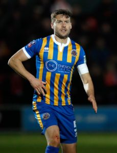 Defender Mat Sadler has vowed to play on after Shrewsbury confirmed he will be leaving the club.