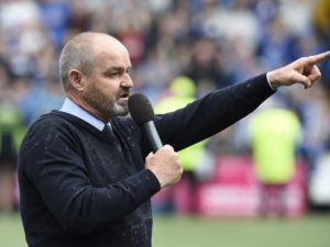 Kilmarnock have thanked Steve Clarke for restoring the 'pride, passion and belief' in their club ahead of his exit to lead Scotland.