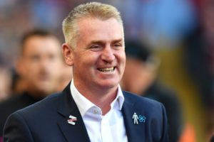 Aston Villa boss Dean Smith claims West Brom are the favourites as they prepare to play each other in the Championship play-offs.