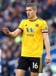 Conor Coady says it has been a 'wonderful' campaign for Wolves and he is 'very proud' to have captained the side.