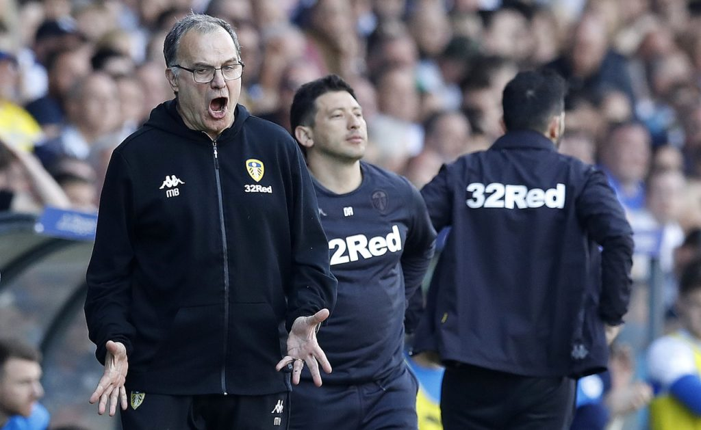 Leeds United boss Marcelo Bielsa has admitted it's a 'painful situation' after his side suffered Championship play-off heartbreak against Derby.
