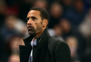Rio Ferdinand has remained tight-lipped amid talk of a surprise return to Manchester United as sporting director.