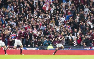 Ryan Edwards admits his cup final goal was all the sweeter following his struggle to establish himself at Hearts.