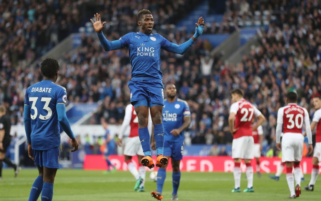 Leicester boss Brendan Rodgers insists Kelechi Iheanacho is part of his plans despite his poor form this season.