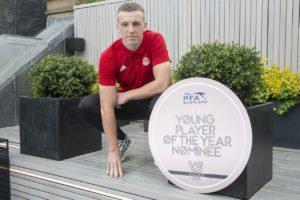 Aberdeen ace Lewis Ferguson has thanked boss Derek McInnes and his dad Derek for the soothing words which helped him recover from his Hampden red card.