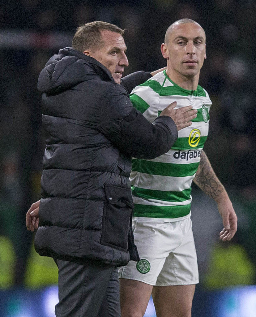 Scott Brown has hailed the Brendan Rodgers legacy that has taken Celtic from being the nearly men of Hampden to the brink of the triple treble.