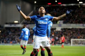Alfredo Morelos has hinted at a possible summer exit from Rangers, saying 'I dream of playing in a much better league'.