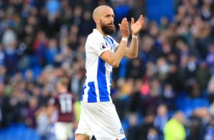 Brighton boss Chris Hughton has paid tribute to fans' favourite Bruno ahead of his final game for the Seagulls on Sunday.