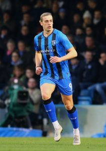 Tom Eaves scored twice as Gillingham ended their League One campaign on a high with a 3-0 victory over Blackpool at Bloomfield Road.