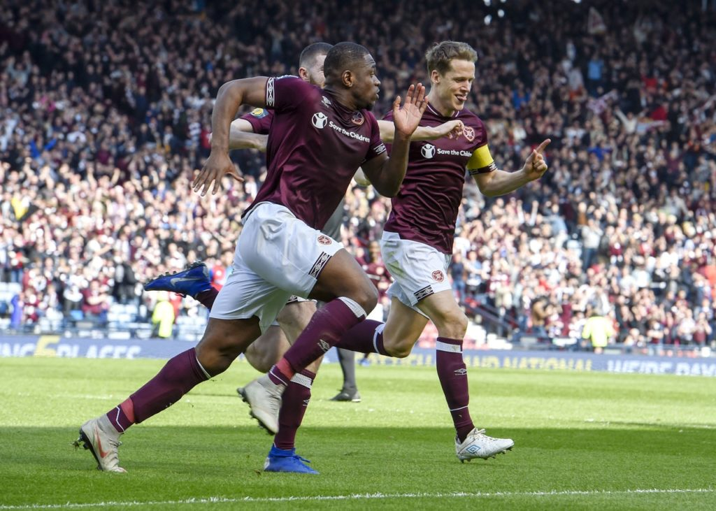 Hearts face Celtic in the William Hill Scottish Cup final on Saturday.