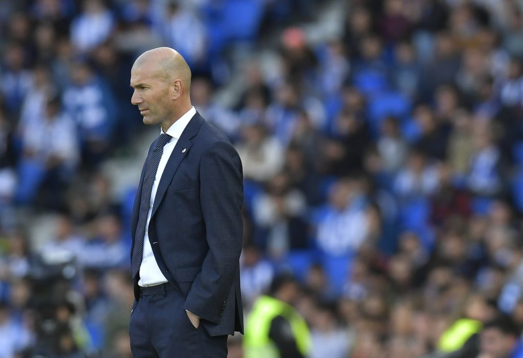 Zinedine Zidane has accepted his share of the blame for Real Madrid's disastrous season.