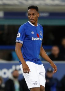 The Football Association is looking into Everton defender Yerry Mina's appearance in a promotional advert for a betting company.