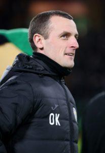 Oran Kearney insists it would be a 'huge success' if St Mirren retain their Ladbrokes Premiership status.