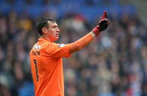 Burton goalkeeper Stephen Bywater has signed a new contract with the club.
