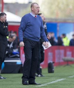 Brian Rice has warned his Hamilton squad it would be folly to think they are safe from automatic relegation.