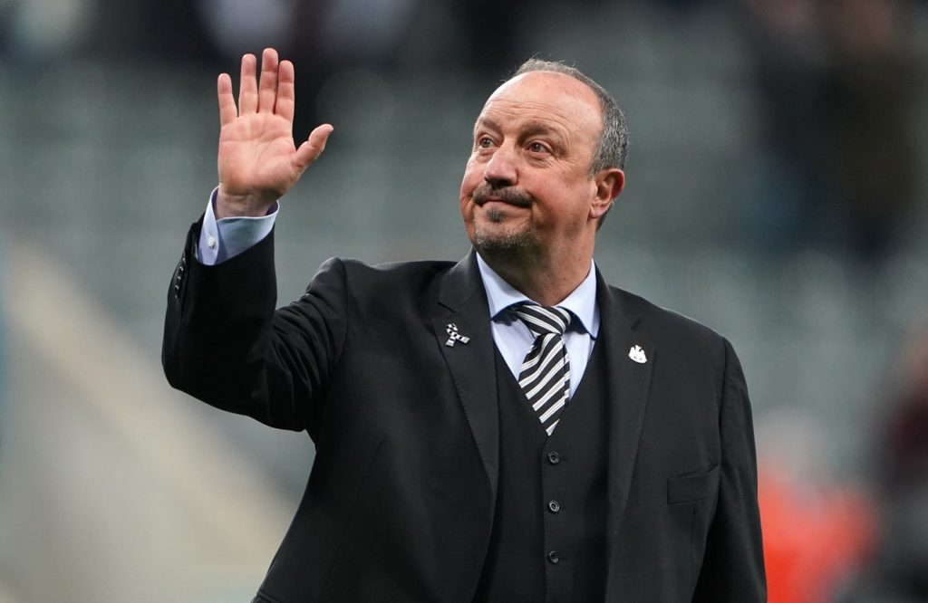 According to reports, Newcastle boss Rafa Benitez has declined talks with both Marseille and Roma.