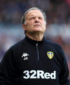Marcelo Bielsa is ready to consider an offer to extend his stay at Leeds, but gave no guarantees over his future after his side's play-off heartbreak.